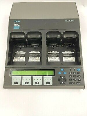 Lot of 6 Cadex C7400 C-Series Battery Analyzer 4 station /  *Tested*