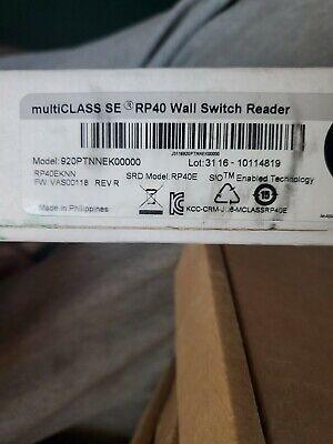 Hid 920ptnnek00000 Multiclass Se Rp40 Proximities Card Wall Switch Reader New