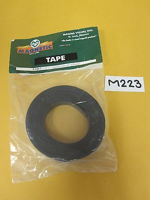 Two 2 Magna Visual Magnetic Tape W Adhesive 12 X 7 Made In Usa