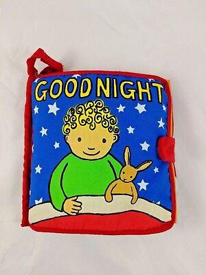 Jellycat Goodnight Soft Cloth Book