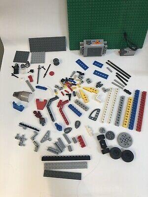 Lego Mechanics Set: Battery, Motor, Plates, Beams, Cam, Gear, Axle, Mini-figure