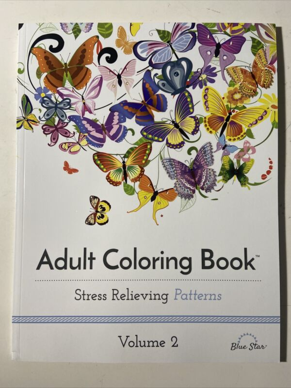 Adult Coloring Book: Stress Relieving Patterns, Volume 2 - Mandala Flowers