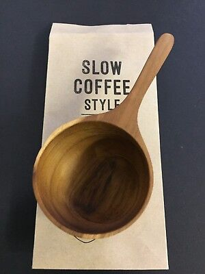 KINTO Coffee Major Spoon SCS Accessories Teak Wood Wooden 27672 from JAPAN