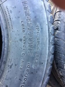 For LT 245/70 R 17 Firestone trans force AT