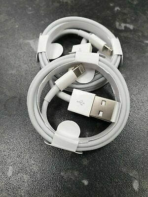Genuine Apple 2m Lightning USB Charger Sync Lead Cable For iPhone 8 7 6S 6 5S 5C