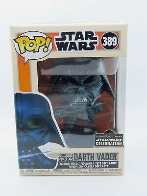 Funko Pop! Darth Vader Concept RARE ANAHEIM CONVENTION STICKER 2020 Star Wars