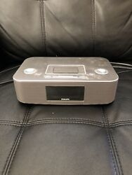 Philips Docking System for iPod, iPhone Alarm Clock Speaker, Radio DC290B37