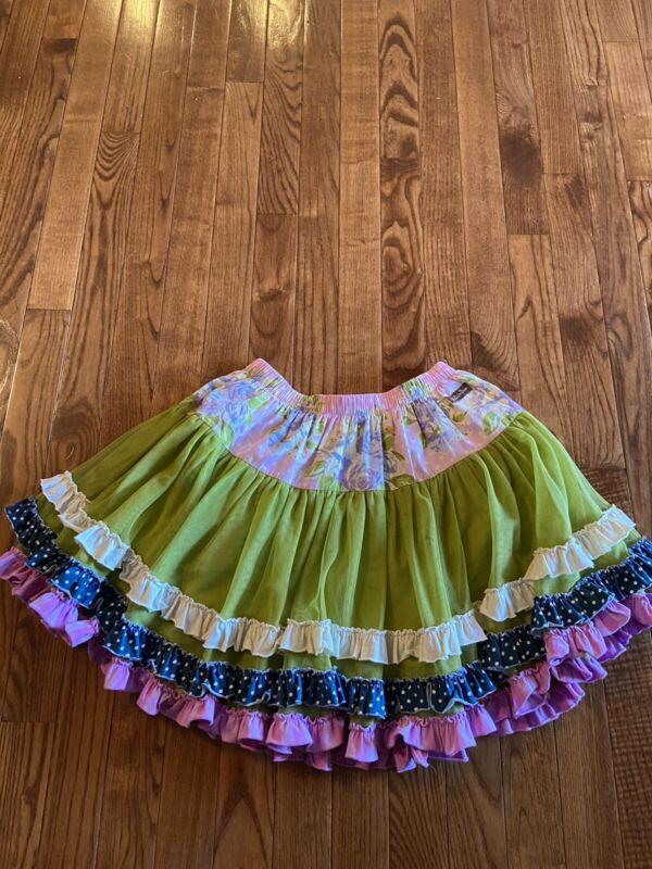 Matilda Jane Clothing Sea Salt Tutu Skirt Girls Size 10