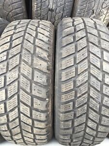 Two winter tires 205/55r16 $50text 902 223 2108