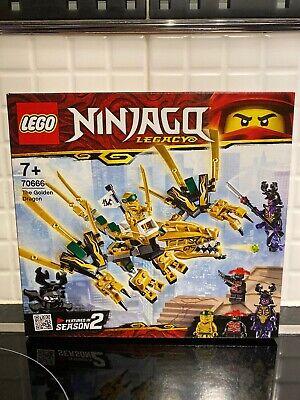 LEGO 70666 NINJAGO Dragon Includes Golden Ninja Lloyd, Overlord and Stone Army