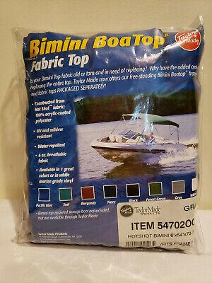 Bimini BoaTop by Taylor Made 54702 Gray Fabric Top 6' x 54