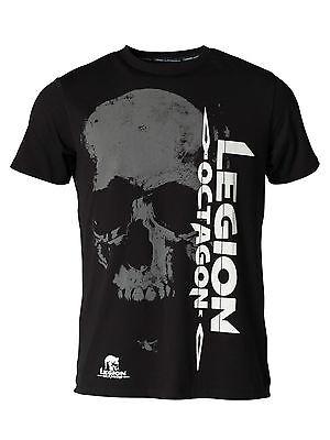 "Legion Octagon. T-Shirt ""Smile"" 2017. S-XXL. Top Qualität. Kickboxen. MMA."