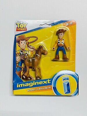 Imaginext - Toy Story 4 - Disney Pixar - Woody & Bullseye Figures *New*
