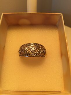 Yellow Gold and Diamond Dress Ring Midland Swan Area Preview