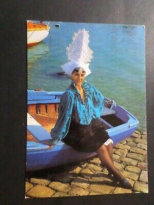 CPM 85 Vendee, Kopfschmuck Kostüm Sablais, VF Postcard (Frankreich Kostüm Schmuck)