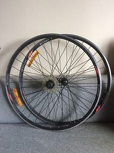 Bike Rims Pair Bicycle Alexrims 622x14 Ritchey Hubs Tempe Marrickville Area Preview