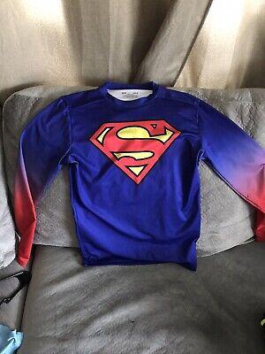 Under Armour Alter Ego Superman Men's Lg Long Sleeve