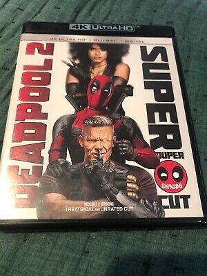 Deadpool 2 4K & Blu-ray Only Opened For Digital Code