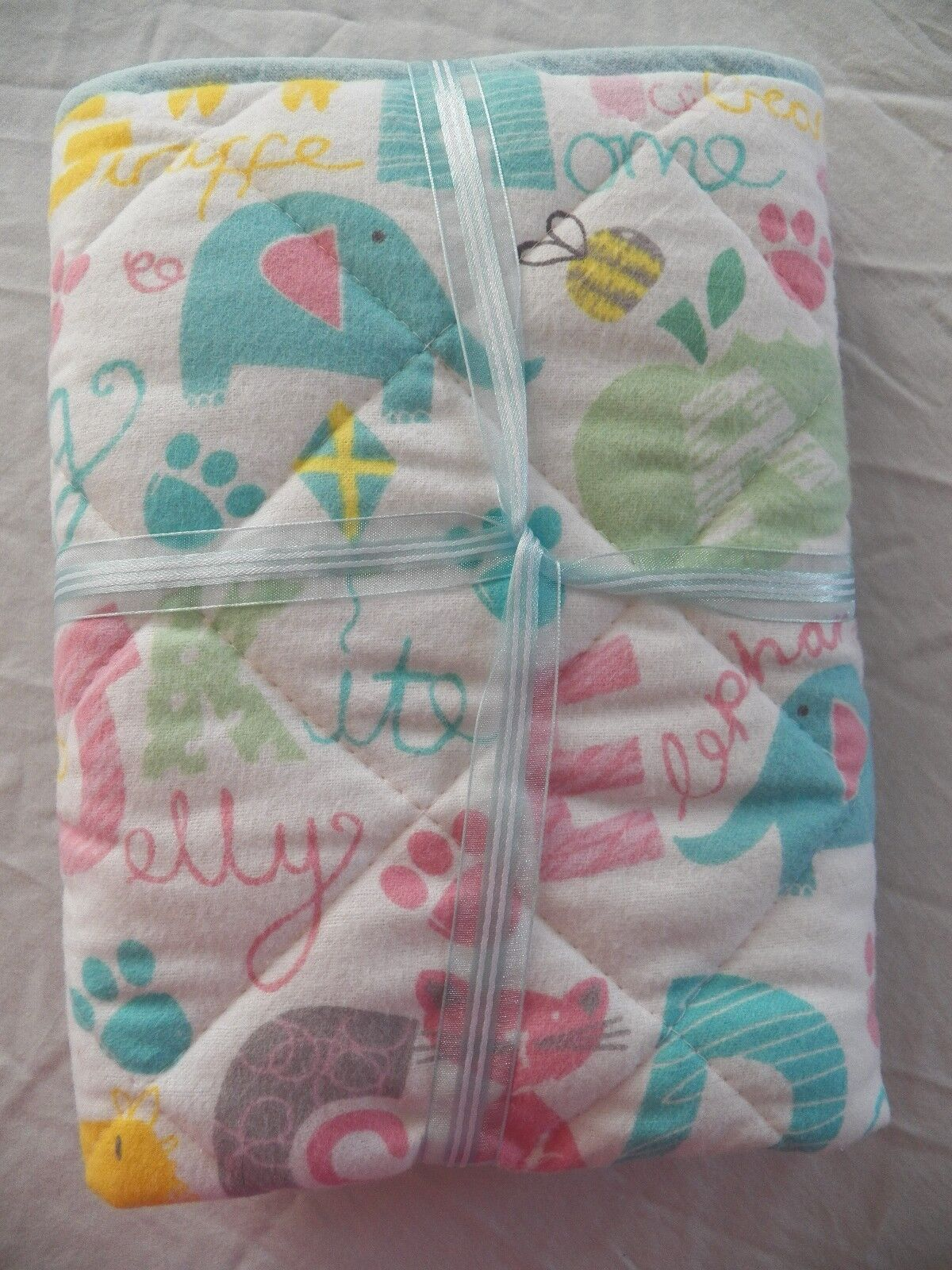 BABY CHANGING PAD Portable Diaper Travel Mat Cotton Washable Padded Handmade NEW 3