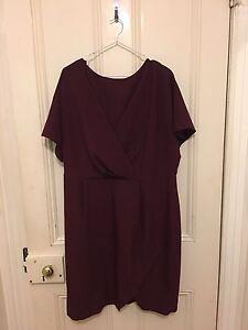 ASOS Plum Wrap Dress - Plus Size 20 Ermington Parramatta Area Preview