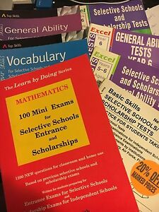 Selective Schools and Scholarship Exam Exercise Books Pymble Ku-ring-gai Area Preview