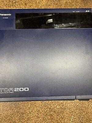 Panasonic Kx-tda200 Hybrid Pbx Control Unit Phone System With Cards