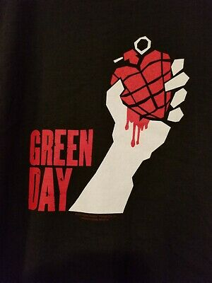 2005 Green Day American Idiot concert tour Tshirt XL black  new