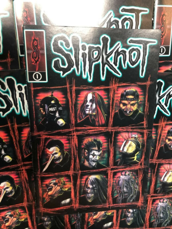 Slipknot Comic Book Rare First Print 2000 Only One Time Printing Howard Stern