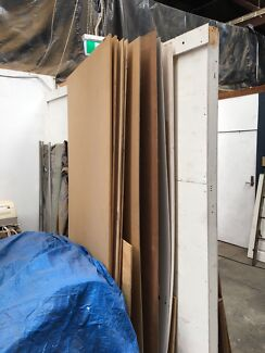 Free partition walls and ply and mdf full size sheets