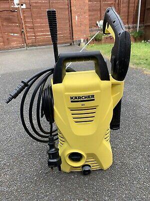 Karcher K2 Pressure Washer Yellow