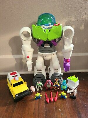 Fisher-Price Imaginext Toy Story 4 Buzz Lightyear Robot with Figures and More