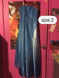 Ladies size 2 prom dress