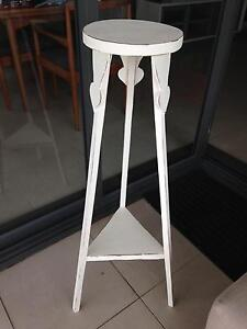 ANTIQUE PINE PLANTER STAND PAINTED SHABBY CHIC Mosman Mosman Area Preview