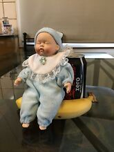 Sitting 'little boy blue' porcelain baby Swan View Swan Area Preview