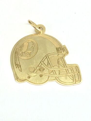 14K Gold NFL Washington Redskins/ Washington Football Team Pendant 1.5 Grams