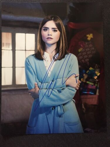 Doctor Who Jenna Louise Coleman Autographed Signed 11x14 Photo COA #1
