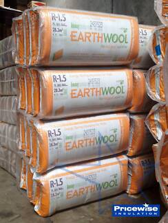 Earthwool Thermal Wall Insulation Batts - R1.5, R2.0 Minto Campbelltown Area Preview