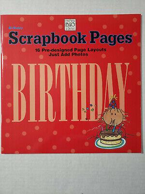 New MAMBI me & my big ideas 16 Scrapbook Page Layouts (1) Book Birthday 12x12 (1 Birthday Ideas)