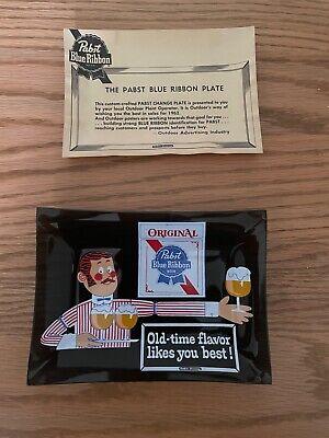 "Original Pabst Blue Ribbon Beer Change Plate ""OldTime Flavor Likes You Best"""