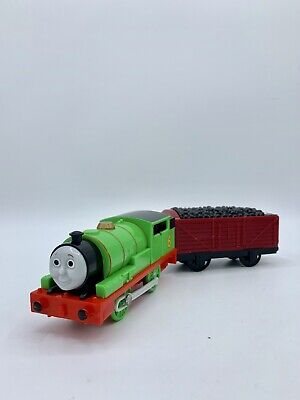 Thomas & Friends Trackmaster Talking Percy Motorized Engine Mattel