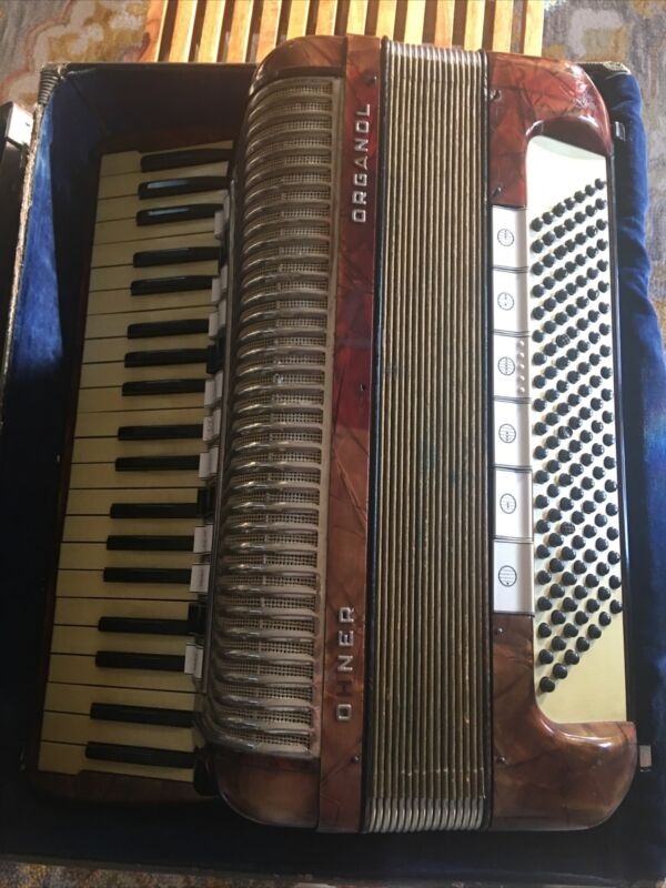 Accordion Hohner Organol + Case