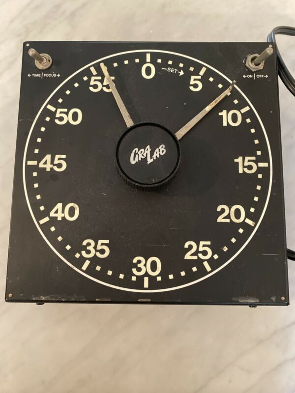 Vintage Gralab Model 300 Darkroom Timer, Excellent Working Good Condition