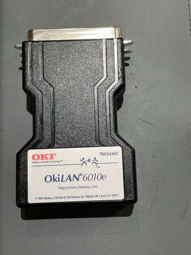 Okidata OkiLAN 6010e 70034401 External Print Server Can use as Zebra ZebraNet
