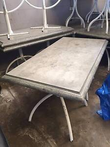 Concrete Tables - Rectangle, Square & Round Assorted Walkerville Walkerville Area Preview