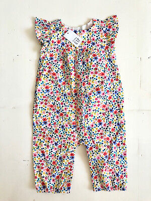 Baby Gap Floral Romper Playsuit  All In One Age 3 - 6 Months Summer Cotton BNWT
