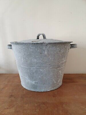 Vintage Galvanised Wash Tub