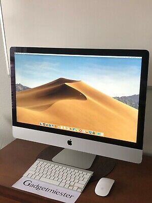 """Apple iMac 27"""" 2014 Retina 5k Core i7 4GHz 32GB 1TB Flash SSD M290X 2GB GFX"""