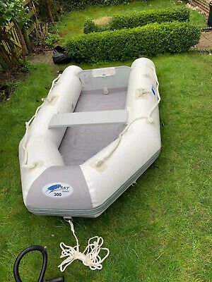 Inflatable Dinghy / Boat Jilong Z Ray Series 300 Sport Boat Used Once