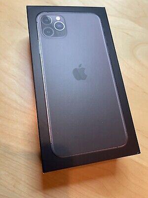 Apple iPhone 11 Pro Max - 256GB - Space Gray (Unlocked) A2161 (CDMA + GSM) MINT!