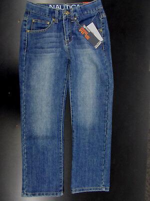 Toddler/Boys Nautica $39.50 Slim Straight Denim Jeans Size 2T 3T 8 10 12 14 & 16